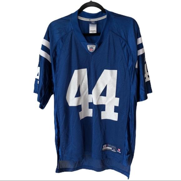 NFL Onfield Reebok Colts #44 Dallas Clark Jersey